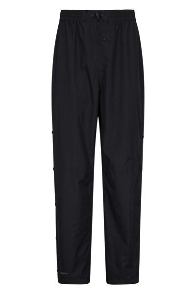 Spray Mens Waterproof Trousers - Short Length - Black