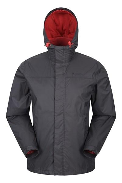 Torrent Mens Waterproof Jacket - Grey