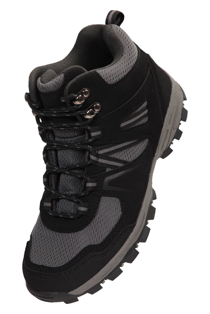 Ideal for Trekking /& Travelling Padded /& Lightweight Walking Shoes Durable Hiking Boots Breathable Ankle Boots Mountain Warehouse McLeod Womens Comfortable Boots