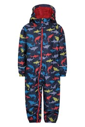 Puddle Kids Printed Waterproof Rain Suit