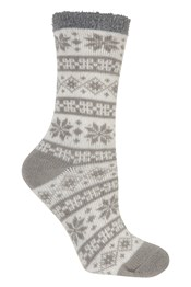 Cosy Griffin Lined Womens Socks