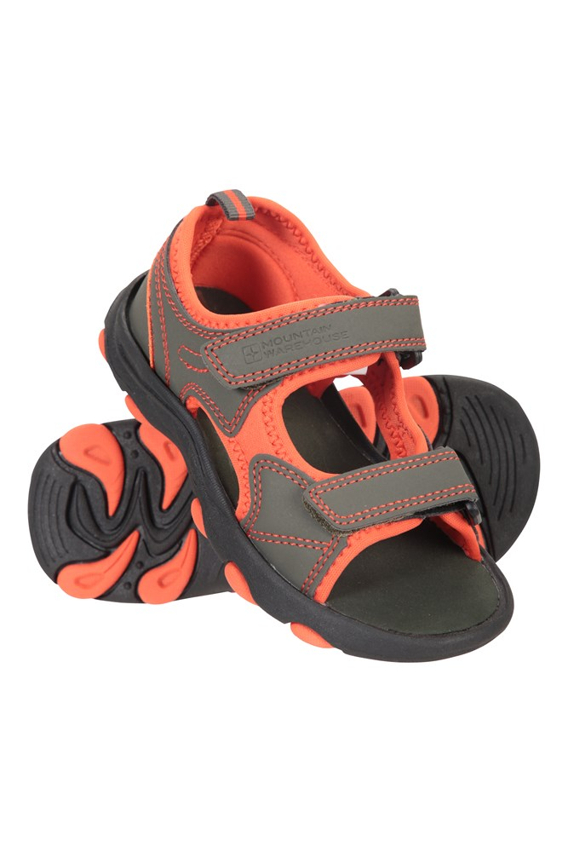 Pebble Junior Sandals - Green