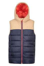 Rocko Kids Textured Padded Gilet