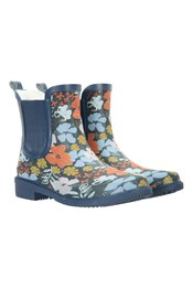 Women's Printed Rubber Ankle Wellies