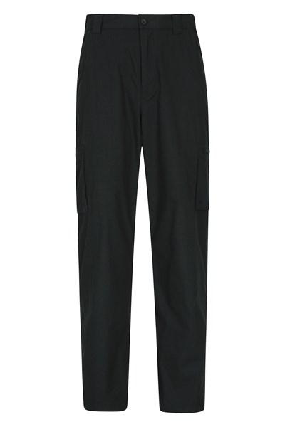 Trek II Mens Trousers - Short Length - Charcoal