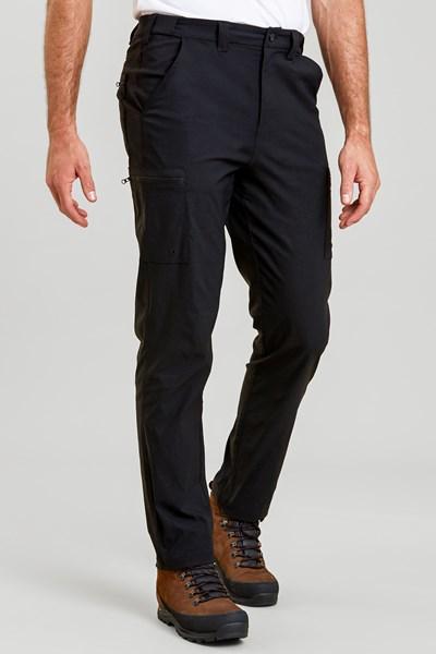 Trek Stretch Mens Trousers - Regular length - Charcoal