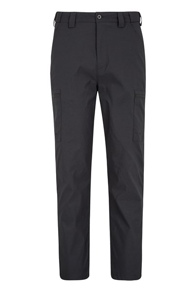 Trek Stretch Mens Trousers - Short length - Charcoal