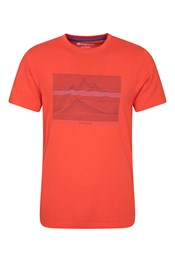 T-Shirt Homme Linear Mountain