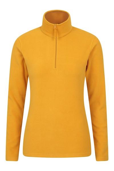 Camber Womens Half-Zip Fleece - Yellow