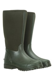 Womens Long Neoprene Mucker Rain Boots