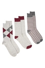 Lightweight Outdoor Mens Walking Socks Multipack
