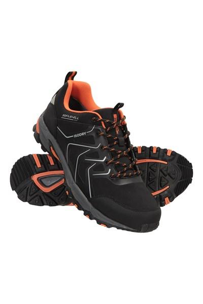 Shadow Mens Waterproof Softshell Shoes - Black