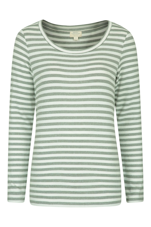 Stripe - sweter damski - Green