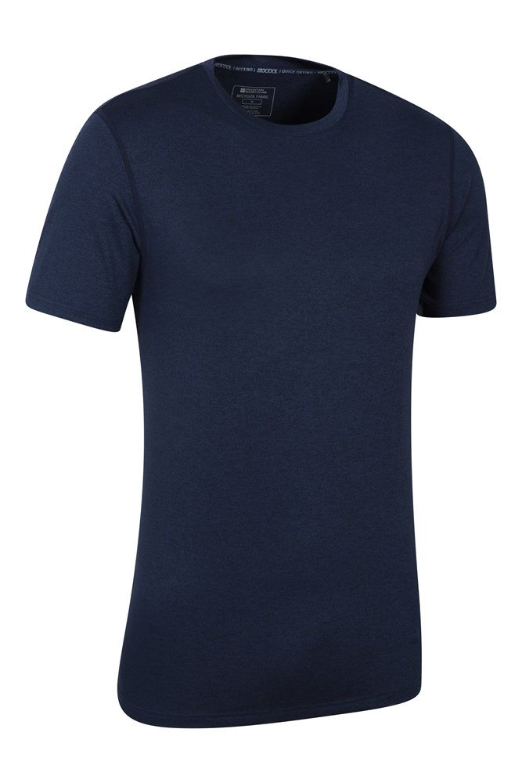 Mountain Warehouse Men Echo Melange Recycled Tee Tshirt