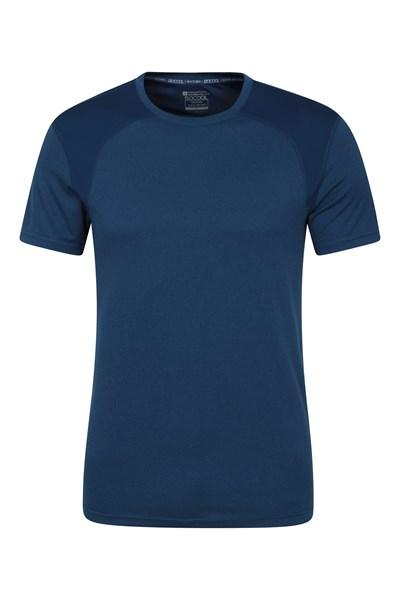 Lunar Panel IsoCool Mens T-Shirt - Blue