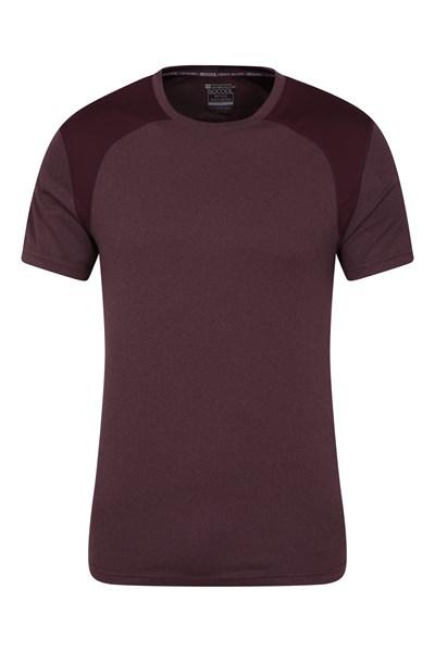 Lunar Panel IsoCool Mens T-Shirt - Purple