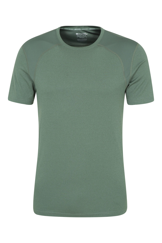 T-shirt Lunar IsoCool à empiècements homme - Vert