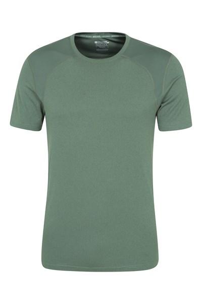 Lunar Panel IsoCool Mens T-Shirt - Green