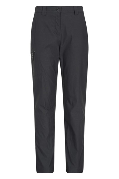 Hiker Womens Stretch Trousers - Short Length - Black