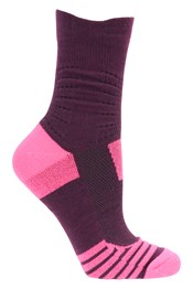 Seamless Padded Womens Running Socks Multipack