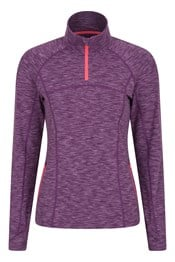 Vinyassa Womens Half Zip Midlayer