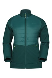 Alpine Mens Padded Softshell Jacket