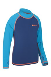 Kids Long-Sleeved Rash Vest Twin Set