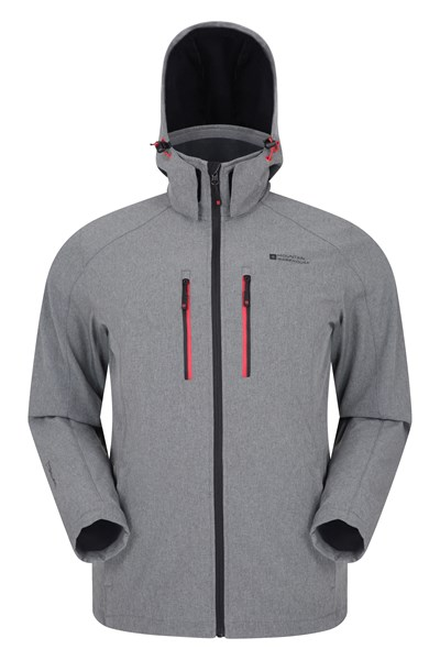 Alto II Mens Softshell Jacket - Grey