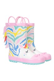Glitter Unicorn Junior Wellies