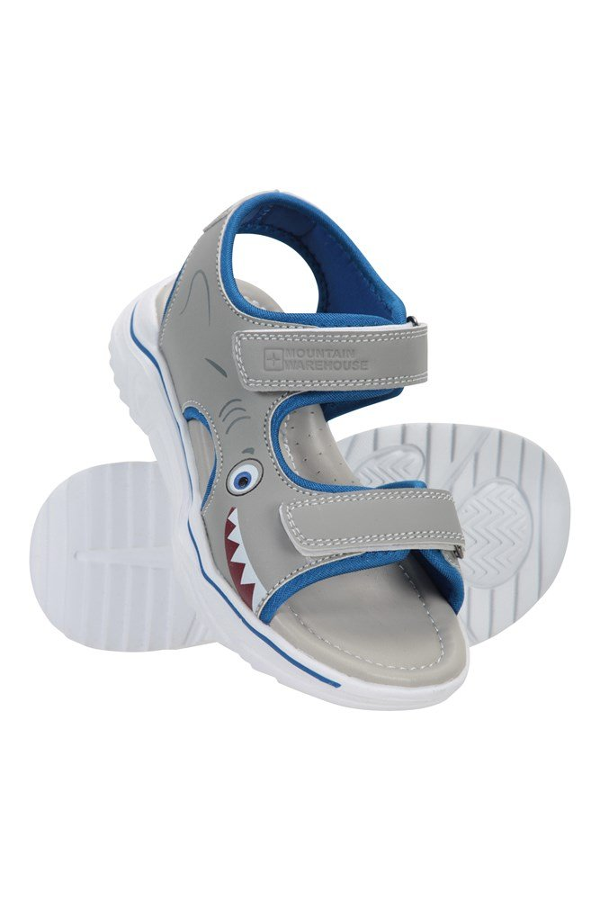Character Toddler Sandals - Grey