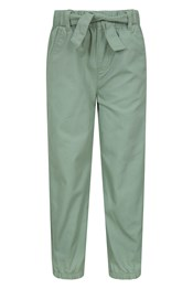 Kids Belted Trousers