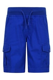 038183 PULL ON CARGO KIDS SHORTS