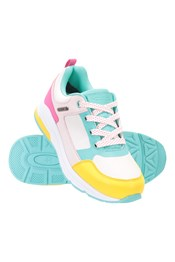 Colourblock Zapatillas de correr infantiles impermeables