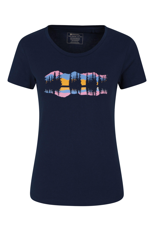Laketime Organic - t-shirt damski - Navy