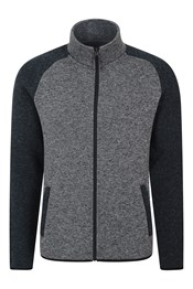 Idris II Mens Raglan Fleece Jacket Jacket
