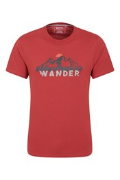 Wander Organic Cotton Mens T-Shirt