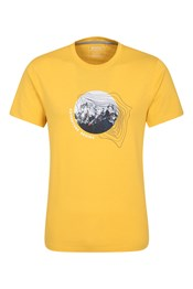 Adventure Begins Organic Cotton Mens T-Shirt