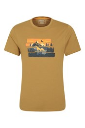 Mountain Explorer Organic Cotton - t-shirt męski