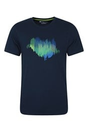 Northern Lights II - t-shirt męski