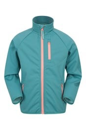 038763 KIDS AVIEMORE WATER RESISTANT SOFTSHELL