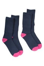 Womens Double Layer Walking Socks Multipack