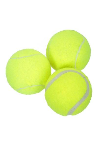 Tennis Balls - 3 Pack - Yellow