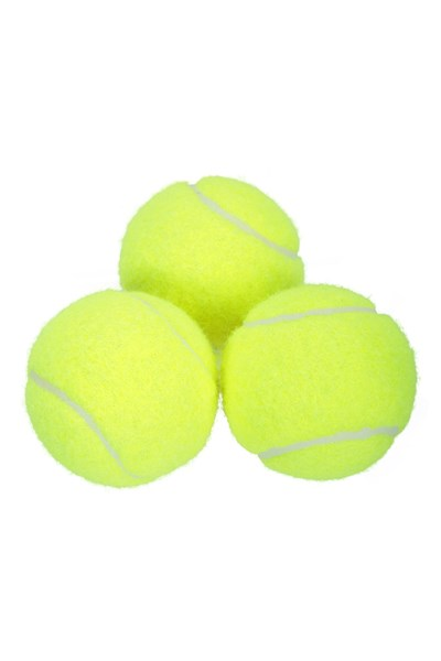 Mini-Tennis Balls - 3 Pack - Yellow