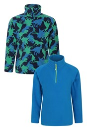 Pursuit Printed Kids Fleece Multipack