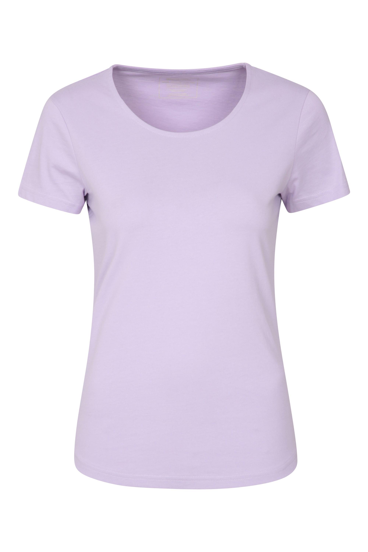 Easy Organic - t-shirt damski - Purple