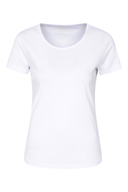 Easy Organic - T-Shirt Damski - White