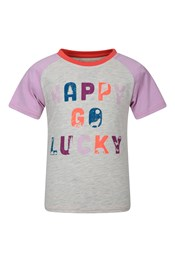 Happy Go Lucky Kids Organic Cotton T-Shirt