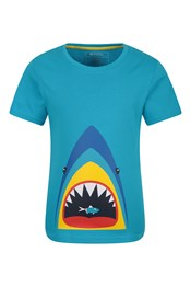T-Shirt Shark Mouth Enfant