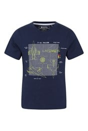 Planes Glow In The Dark Kids Cotton T-Shirt