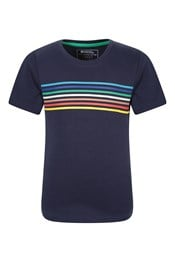 Kids Stripe Organic T-shirt